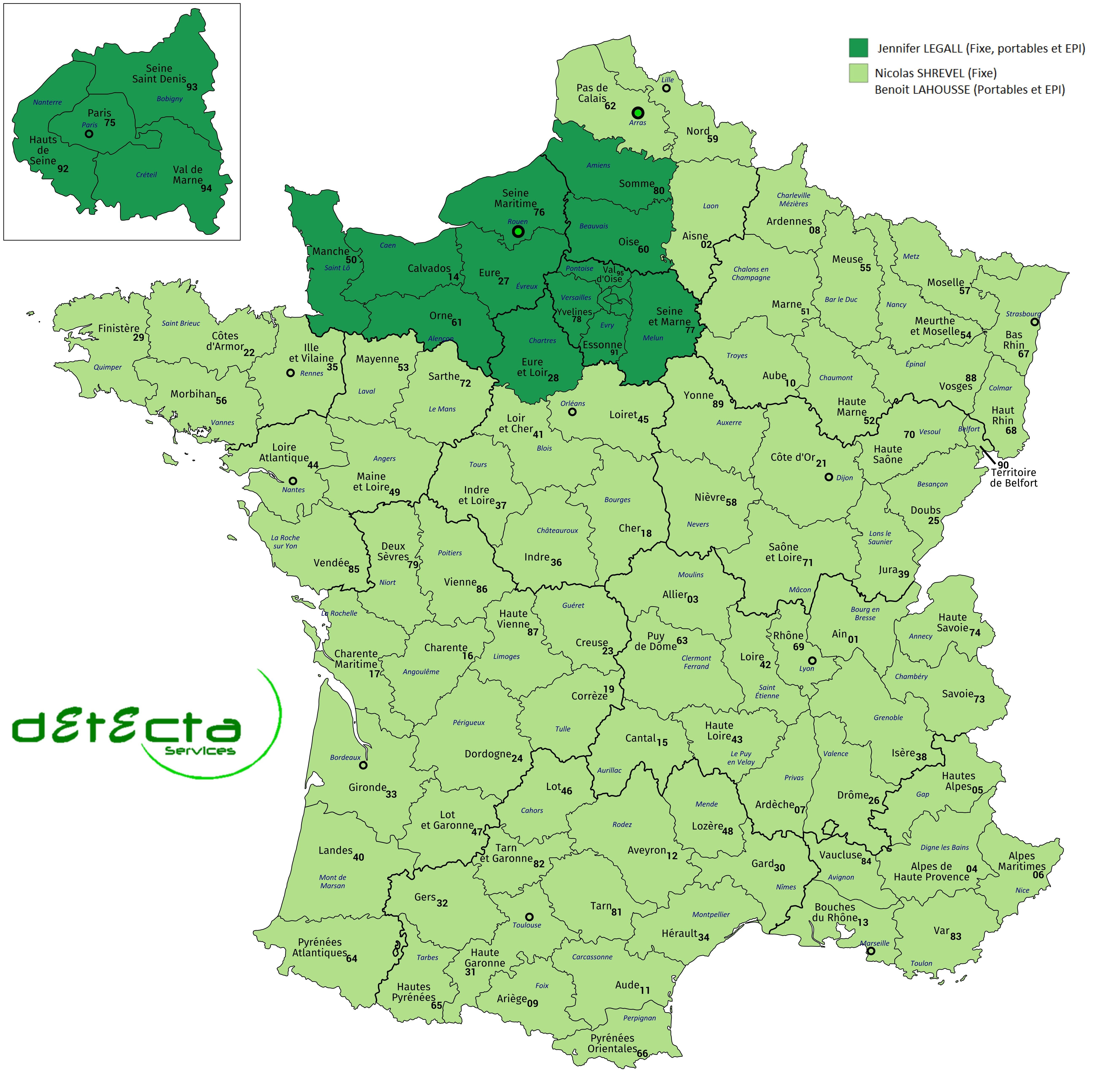Detecta Services Ouvre Une Antenne En Normandie !